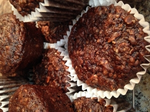 Chocolate Power Muffins