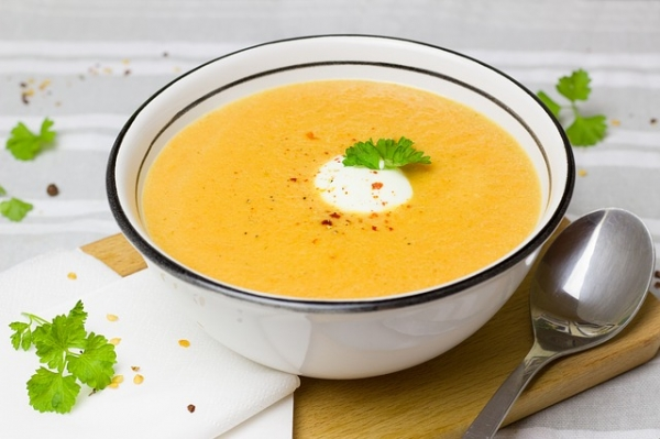 curried carrot cauliflower soup