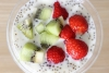 yogurt, chia and fruit