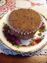 Coconut Flour Apple Muffin